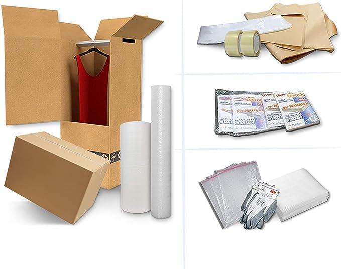 62 opinioni per IMBALLAGGI 2000- Kit Trasloco Appartamento 90mq, Contiene Scatole di Cartone,