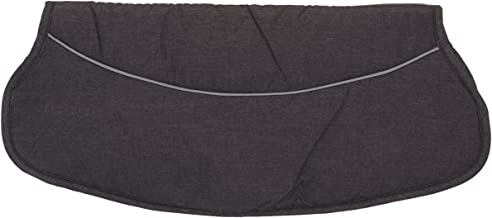 Handwärmer MELANGE/Handschuh für Kinderwagen/Buggy/Sportwagen PONGEE  CORAL-FLEECE Anthrazit MELANGE