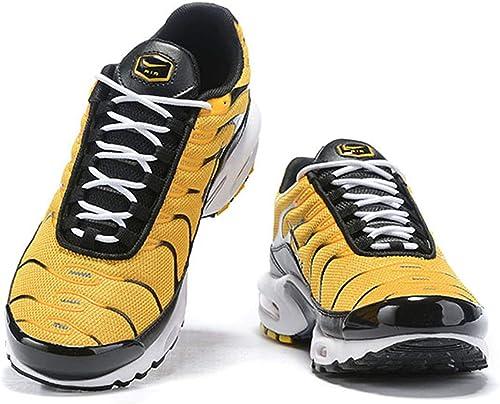 Air Plus TN Femme FonctionneHommest paniers Chaussures (36 (36 EU, Jaune Noir)  en soldes