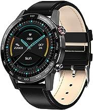 Business Mannen SmartWatch Met Hartslagmeter 360* 360 Pixel HD Screen Sport Armband IP68 Waterdicht Voor Zwemmen (Kleur: R...