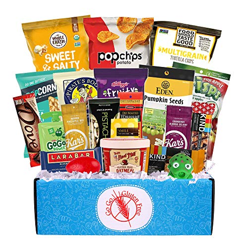 Gluten Free Care Package for College Student Birthday or at Final Exam Time, Military Troops, Office Meetings or Anyone who wants to eat Healthier.