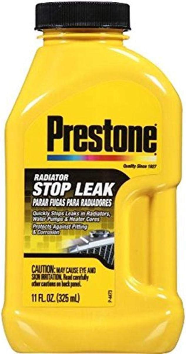 famous Prestone AS145 Radiator Sealer Stop - 11 Quality inspection Leak oz.