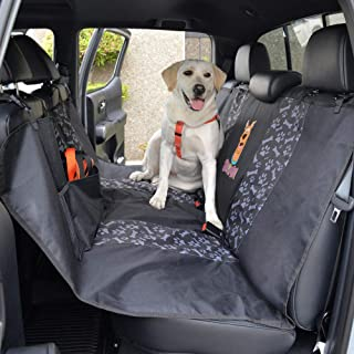 BDK SD52 Scooby-Doo Pet Seat Cover for Car SUV & Truck-100% Waterproof Protection, Double Padded, Extendable with Split Zipper, Dog & Cat Friendly (Bench Hammock)