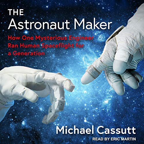 The Astronaut Maker audiobook cover art