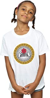 Disney Girls Mulan Movie Flower Comb T-Shirt