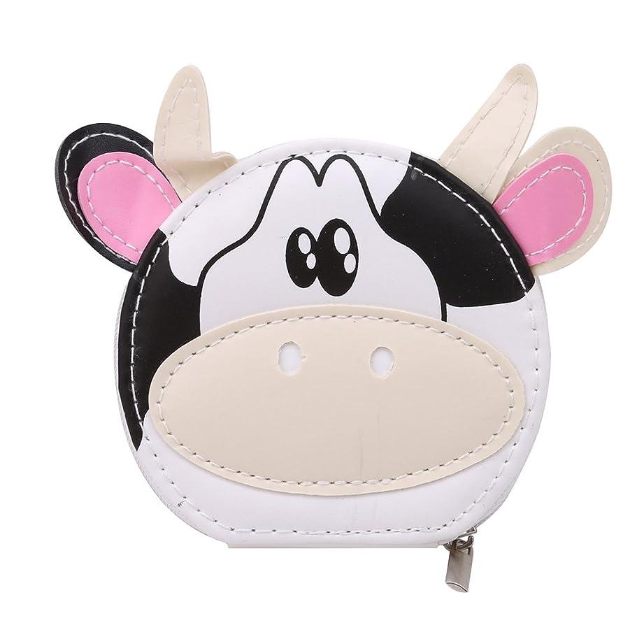 まだら結核ピークYUEHAO ネイルケア セット 爪切りセット携帯便利のグルーミング キット ステンレス製 つめきり 8点セット かわいい ホワイト乳牛