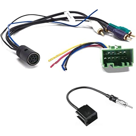 Amazon.com: ASC Audio Car Stereo Radio Wire Harness and Antenna Adapter to  Install an Aftermarket Radio for Some Volvo Vehicles- W/Factory OEM Premium  Amplifier System - Compatible Vehicles Listed Below: Car Electronics | Window Antenna To Aftermarket Radio Wiring |  | Amazon.com