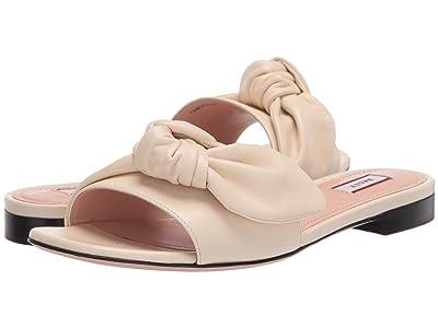 Bally Faney Flat Sandal (Bone) Women