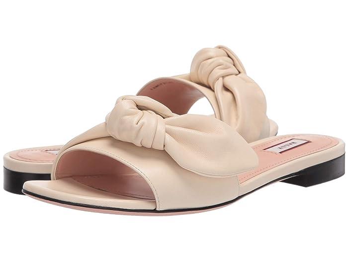 Bally  Faney Flat Sandal (Bone) Womens Sandals