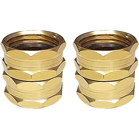 Female 3//4 to1//2male brass adapter G3//4 Reducing joint G1//2 threaded ConnectHZJA