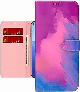 TYWZ Färgglad målning plånboksfodral för Huawei P50, vattenfärg design folio flip PU-läder med korthållare spår stående fu...