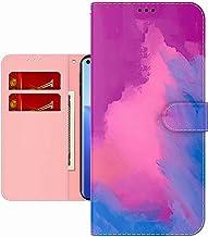 TYWZ Coloré Peinture Portefeuille Coque pour Xiaomi Mi 11 Pro,Aquarelle Désign Housse Étui PU Cuir avec Carte Fente Antich...