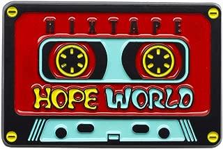 Hope World Enamel Pin, BTS J-Hope Hixtape Hixtape Music Gift