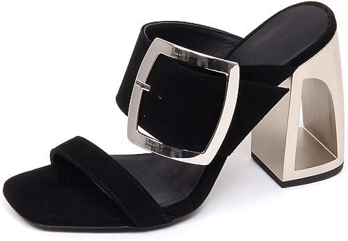 VIC MATIE' E9530 Sandalo Sandalo Sandalo femmes noir LONGISLAND chaussures Suede Sandal chaussures Woman 51c