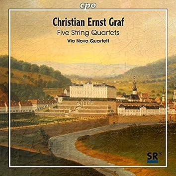 Graaf: 5 String Quartets