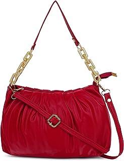 REBOOT Women's Cloud Bag with chain Trendy Fashion Shoulder Bag Chain Handle Cross body Bag