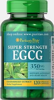Puritan's Pride Super Strength EGCG 350 mg-120 Capsules