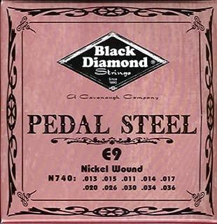 Black Diamond Pedal Steel E9 Set