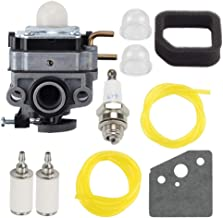 Hilom 753-06258A Carburetor for 753-06258 Ryobi RY252CS RY253SS RY251PH RY254BC 2 Cycle 25cc Gas Craftsman Cultivator String Trimmer Rep 307160001 316299372 316773800