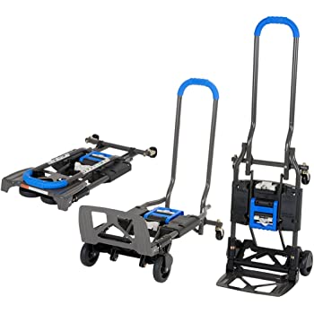 Cosco Home Office Products Shifter Chariot Et Diable 2 En 1 1 Piece Bleu Amazon Fr Bricolage