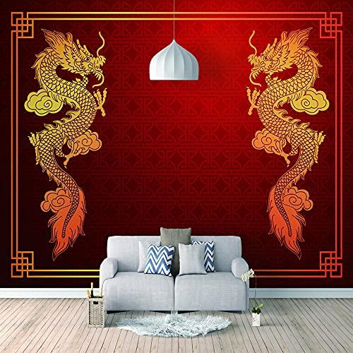 Papel Pintado 3D Foto Murales CNY,Papel Tapiz Fotográfico Premium No-Tejido Mural Apto para Sala de Estar Dormitorio Decoración de la Papel Tapiz 200x150 cm - 4 tiras