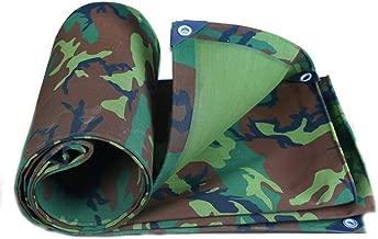 ZWXXQ Lona de PVC,Lona Impermeable Duradera de Tejido Impermeable en Diferentes tamañosI Lona de Cobertura y Resistente a la Rotura Protectora de arbustos y árboles,A,8x10m