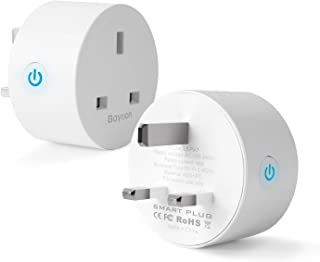 Smart Plug, Baytion 16A Energy Monitoring WLAN Smart Plug Socket Work with Alexa,Echo, Google Home Mini Smart Outlet Remot...