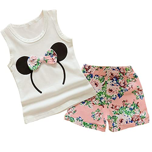 Flock Together Kids Baby Girls Short Sleeve Fashion Tee Tops