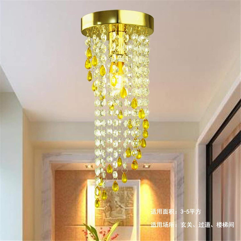 T-Tonranp Les Lampes Modernes pour Le Cristal de Salon Ont Hommesé Les plafonniers d'appareils d'éclairage de plafonnier or1