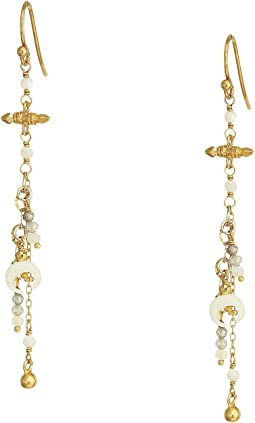 Charm Chain Earrings