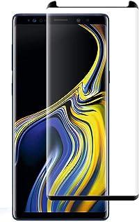 استكر زجاجي, واقي شاشة زجاج , جالكسي نوت 9, Galaxy Note 9, يعطي رؤية واضحه ,  , 2 حبتين