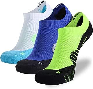Low Cut Running Socks, NIcool Men's Tab Performance Athletic Outdoor Dri-Fit Socks