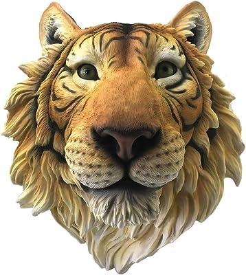 Nemesis Now Rajah Tiger Head - Placa de pared, polirresina, color naranja, talla única