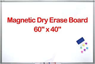 "60""x40"" Large Whiteboard/White Board, Magnetic Dry Erase Board, Hanging.."
