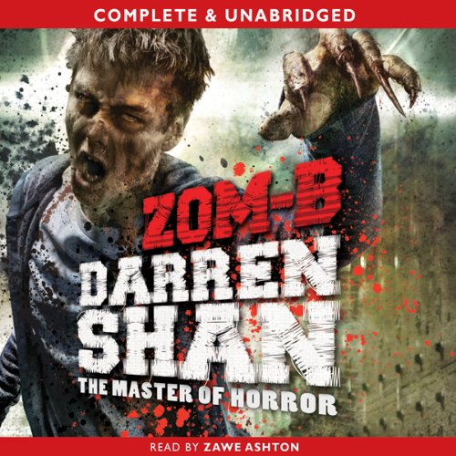 Zom-B audiobook cover art