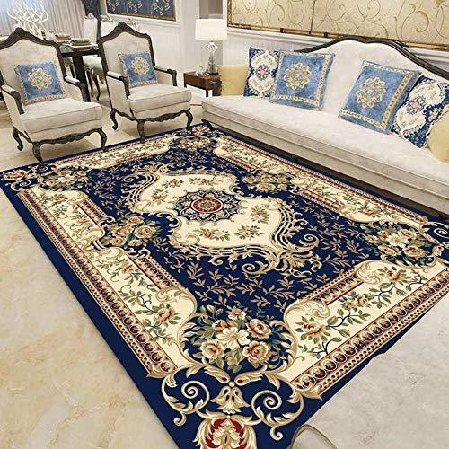 Modern Household Simple Living Room European Carpet Tea Table Full Mat Washable Room Decoration Rugs for Bedroom-7_120x160cm