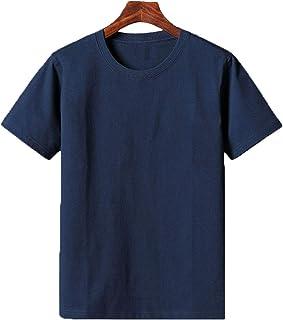 BOFETA Tシャツ 型崩れしにくい 白 おしゃれ 9.8oz 半袖シャツ BASIC 軽い 5色展開 半袖 カットソー 肌着 S-5XL Tシャツ ファッション クルーネック トップス 防菌防臭 シームレス