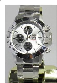 [エルジン]ELGIN 腕時計 クロノグラフ 日本製ムーブメント 200M 防水 ブラック FK1184S-S