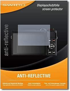 Claro L/ámina Protectora 2X Bruni Pel/ícula Protectora Compatible con Canon PowerShot G5 X Mark II Protector Pel/ícula