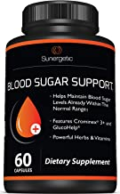 Premium Blood Sugar Support Supplement – Helps Support Healthy Blood Sugar & Glucose Levels – Includes Bitter Melon Extrac...
