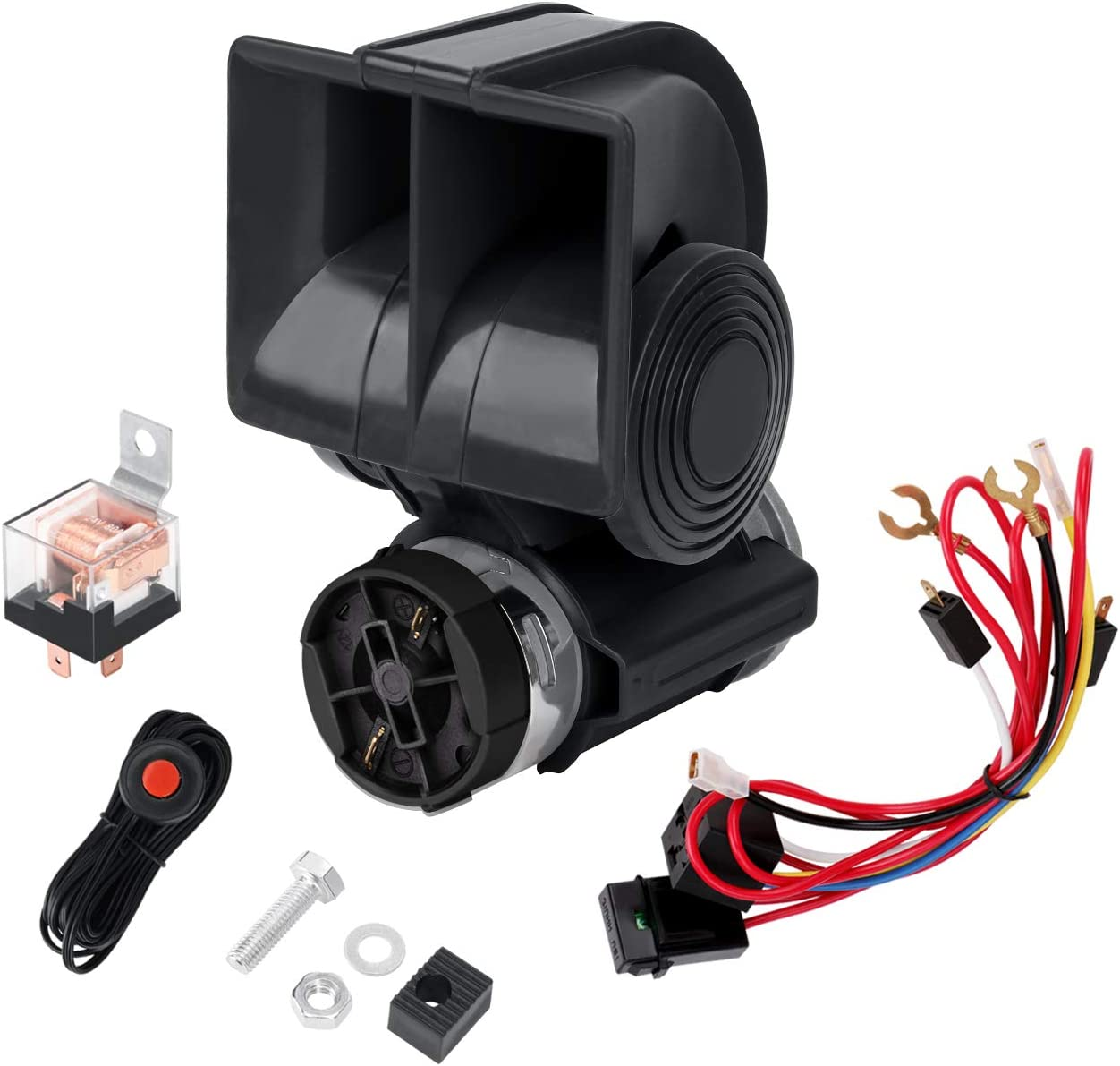 Air Car Factory outlet Horn 12V All stores are sold Compact with N Automotive Mini Relay Compressor