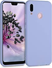kwmobile TPU Case Compatible with Huawei P20 Lite - Case Soft Thin Slim Smooth Flexible Protective Phone Cover - Light Lav...
