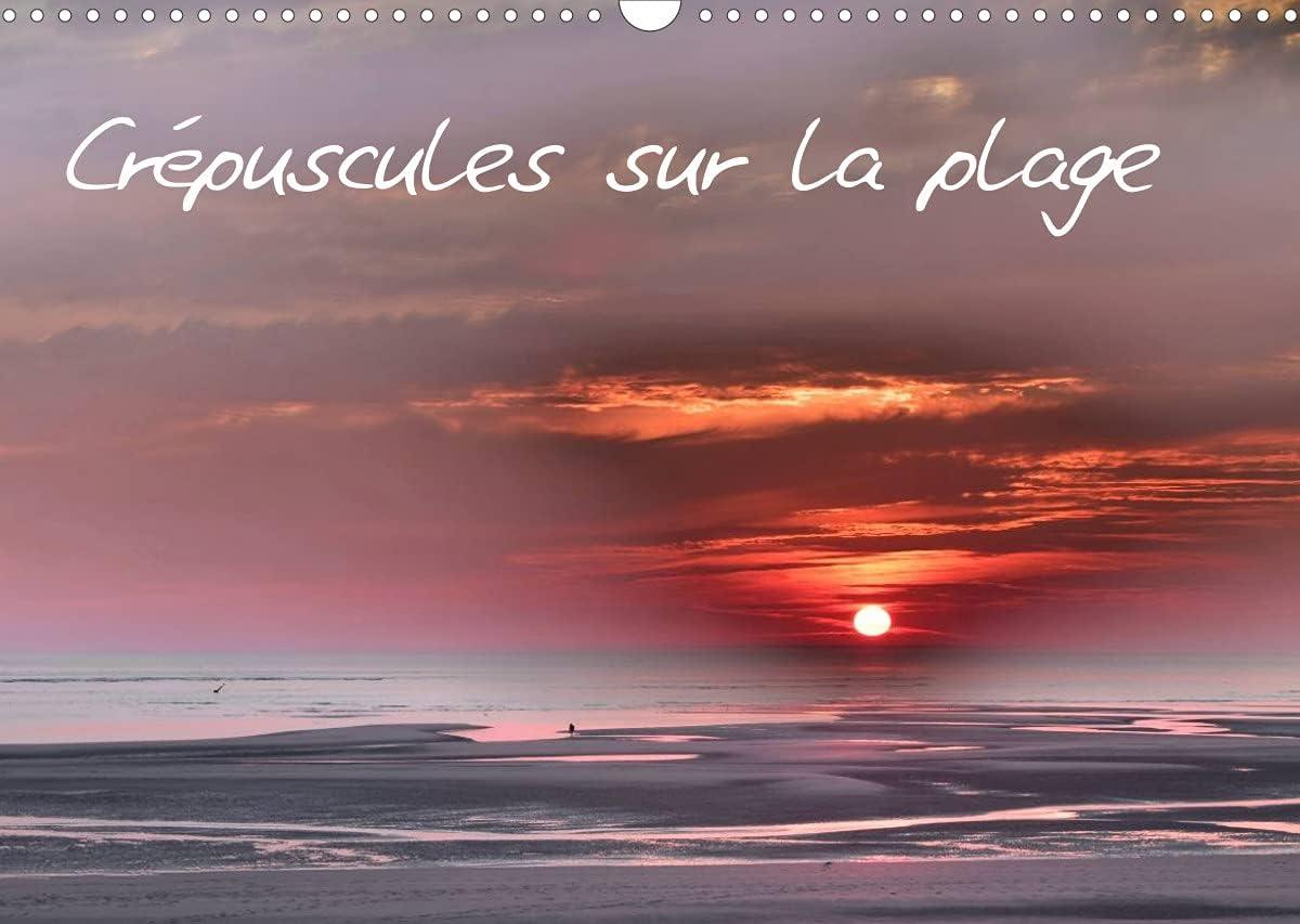 Crépuscules sur la plage (Calendrier mural 2022 DIN A3 horizontal): La plage de Berck au crépuscule et la nuit (Calendrier mensuel, 14 Pages )