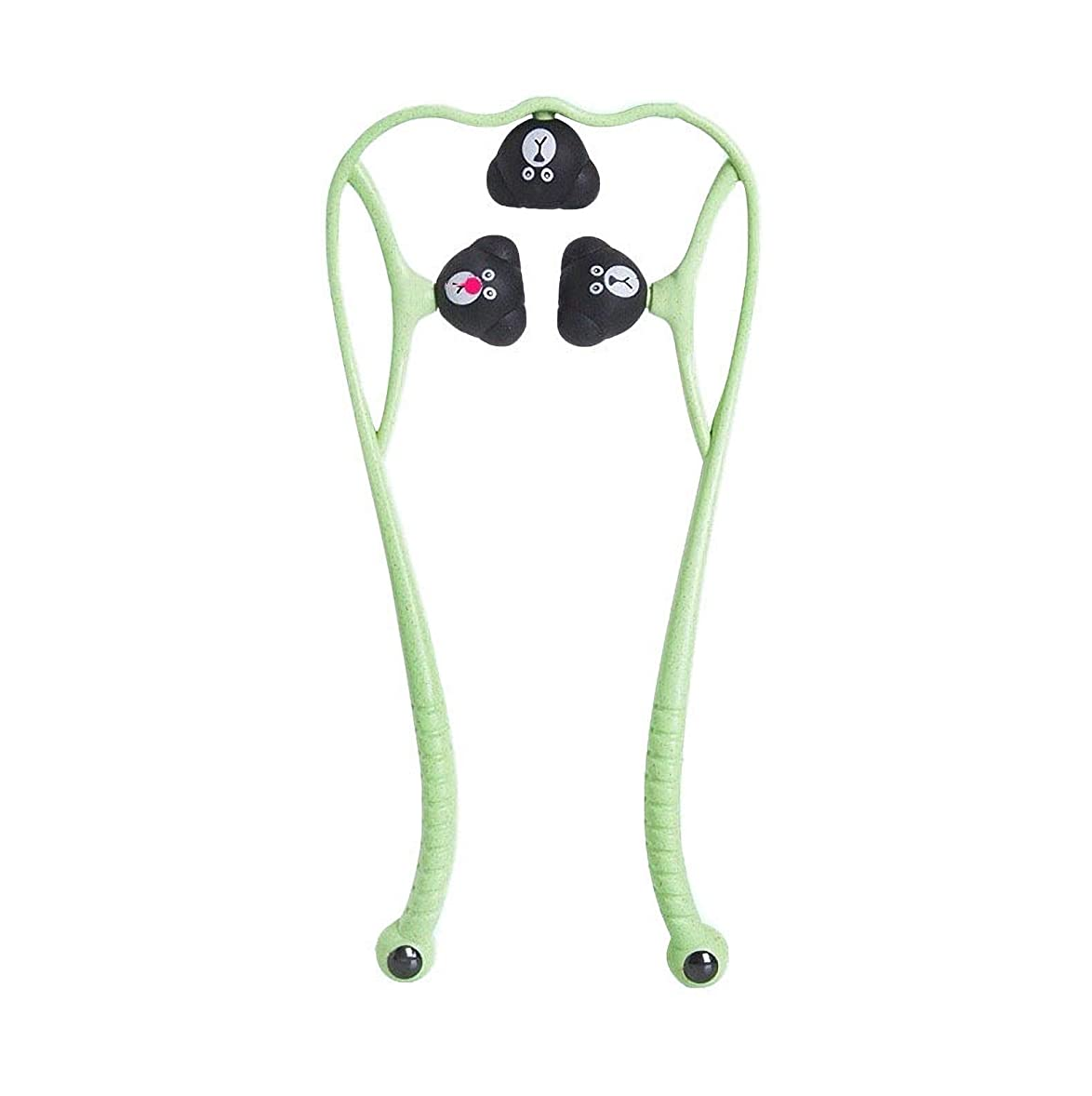 ウィザード著作権に応じて手動頚椎マッサージ器肩頸マッサージボールの痛み解消用品