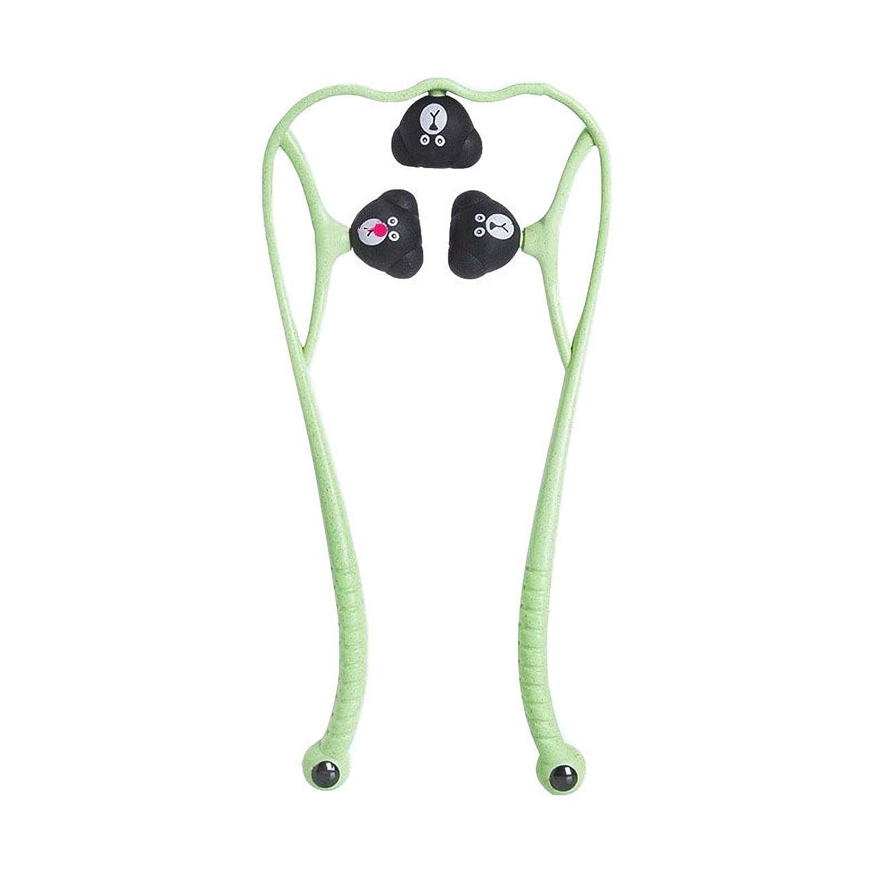 堂々たるアロング液体手動頚椎マッサージ器肩頸マッサージボールの痛み解消用品