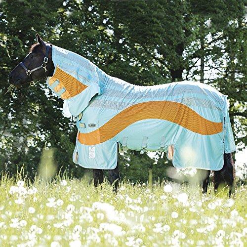 Horseware Amigo Vamoose Evolution - Aqua/Orange, Größe:145