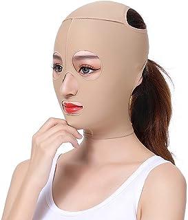 Face Lifting Slimming, Face Slimming Cheek Professional Full Face Lift Slimming Facial Massage Bandage Chin Lift Up Anti R...