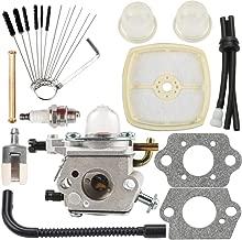 Dalom PB-200 Carburetor w Cleaning Tool Air Filter Tune Up Kit Fit Echo Blower C1U-K78 PB200 PB201 ES210 ES211 A021000942 A021000943 Shredder