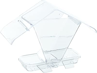 1 Liter Capacity Square Bee Feeder USA Seller Fits Nuc Boxes