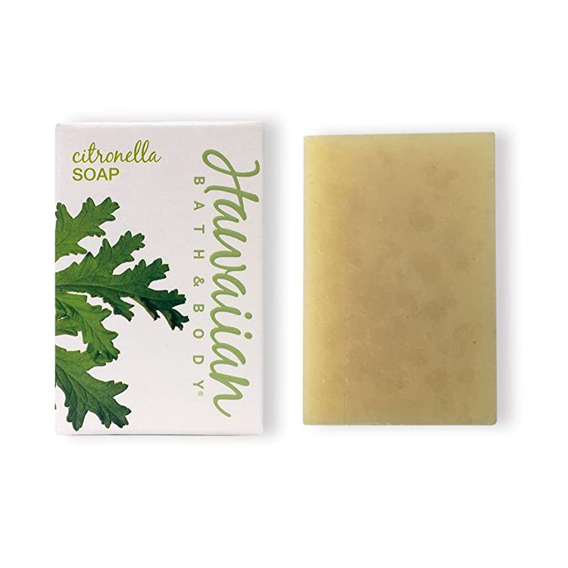 噛むトレイルアーティキュレーションハワイアンバス&ボディ シトロネラソープ(ビーチバー)( Citronella Soap )